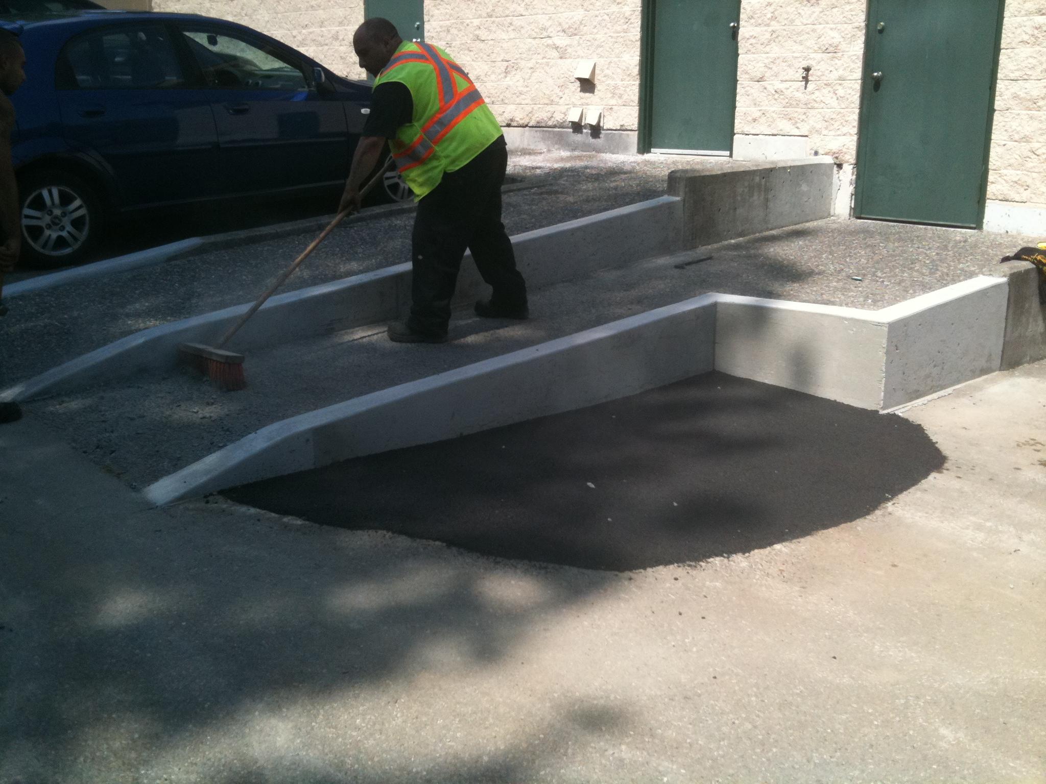 Parking Lots & Maintenance Work