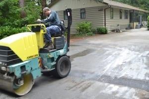 driveway paving asphalt