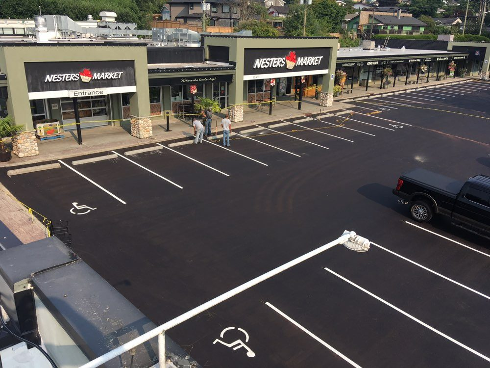 Parking lot paving patching pacific coast paving for Parking solutions for small spaces