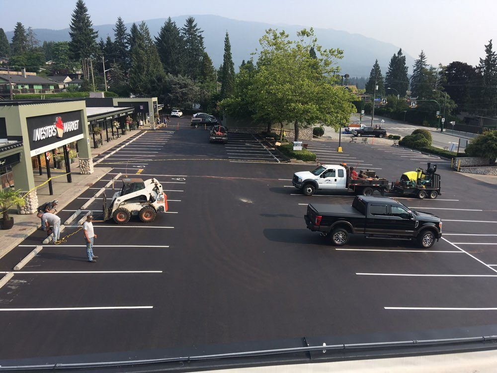Parking Lot Patches and Repairs