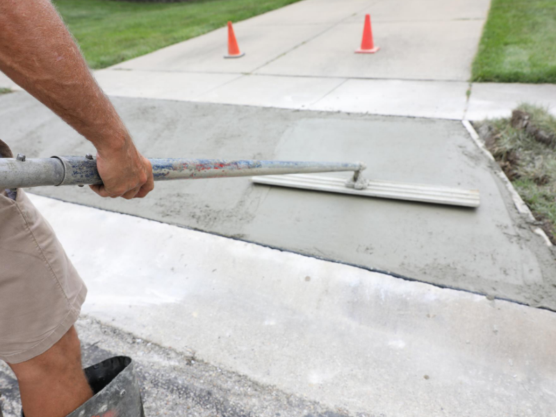 repair your home concrete driveway by yourself